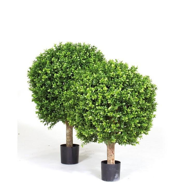 Buchskugel - Kunstbaumpflanze