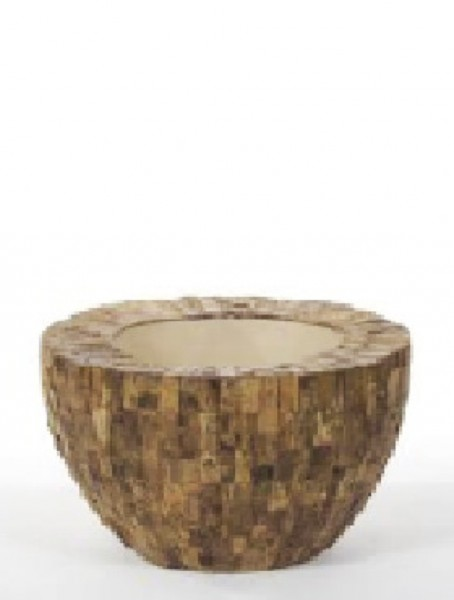 Cemani Wood Design Cup Pflanzschale