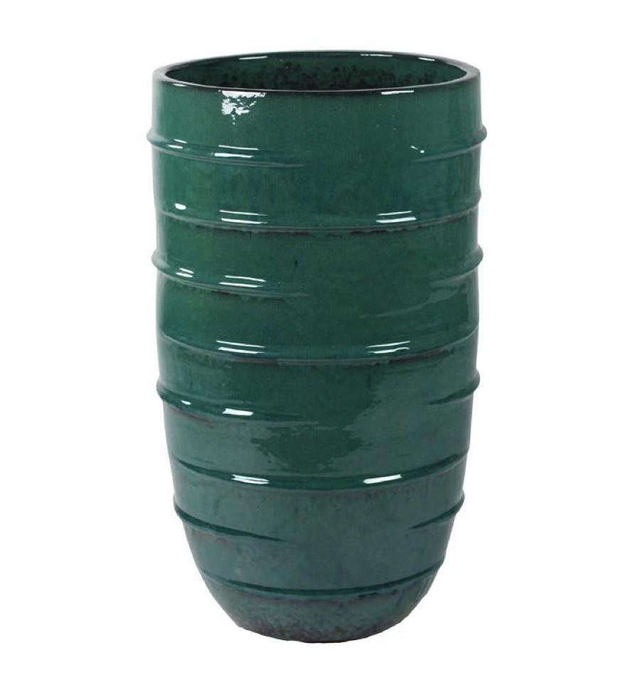 Beauty Pflanzkübel - Türkis Keramik | Terrapalme Heim- und Gartenshop