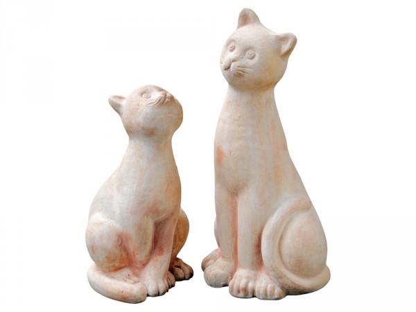 Filippo und Francesca Katze - Rossini Terracotta