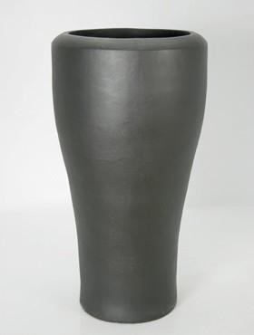 Anthrazit Crater | Keramikkübel