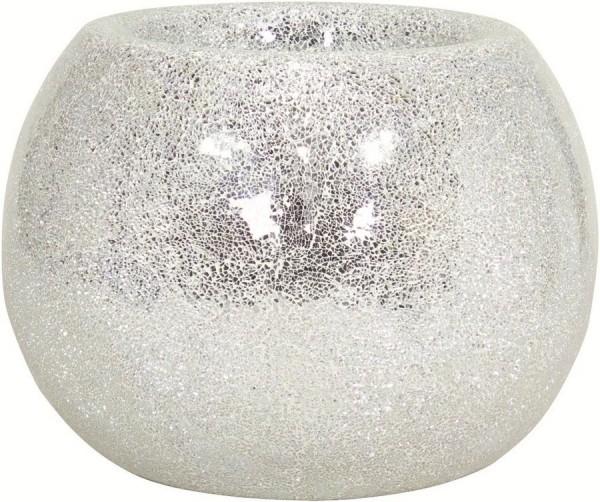 Disco mirror | Glasmosaik Pflanzgefäß