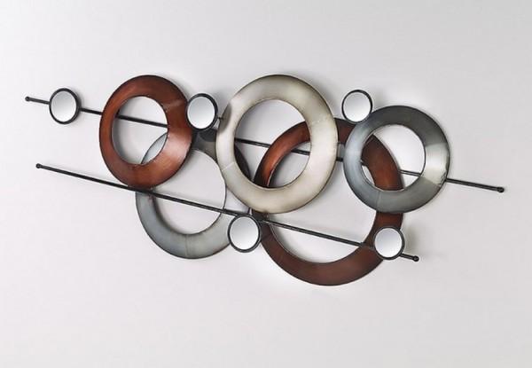 Ollypo Wandbild aus Metall