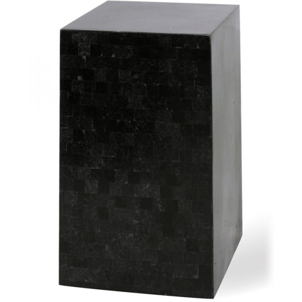 Dekosäule Geo Podium black polished