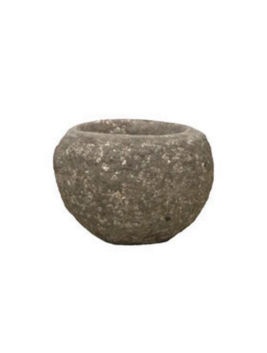 findling brown pflanzk bel polystone rock terrapalme. Black Bedroom Furniture Sets. Home Design Ideas