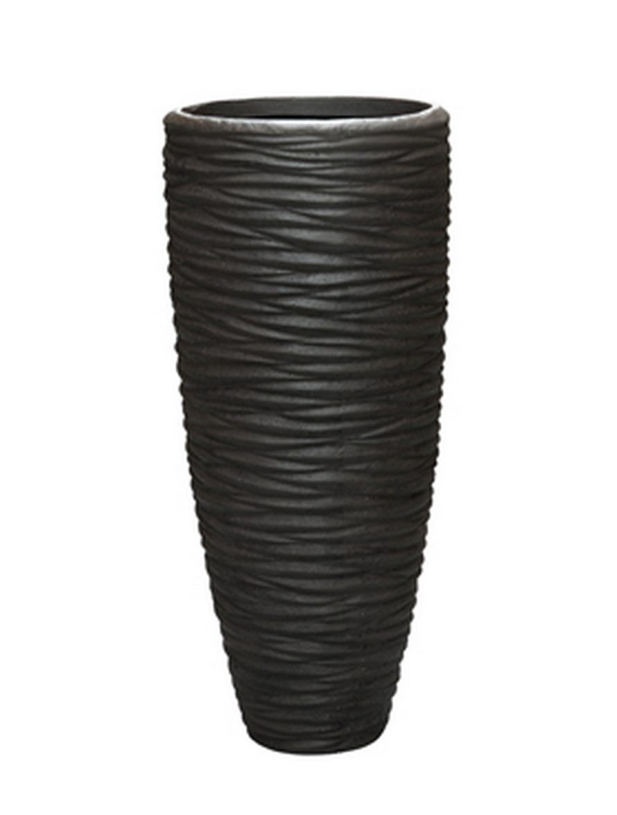 seaside partner braun polystone pflanzvase terrapalme. Black Bedroom Furniture Sets. Home Design Ideas