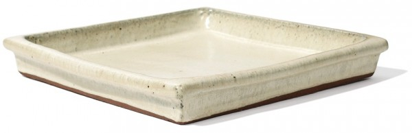 Untersetzer quadratisch | Creme Keramik