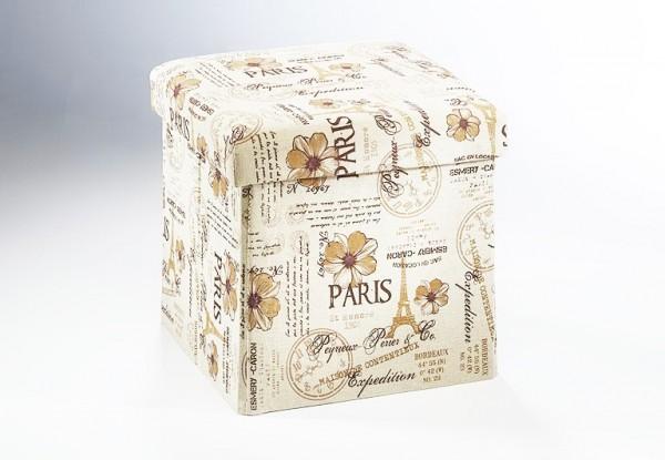 Hocker mon amour | Schachtel und Box im Nostalgielook