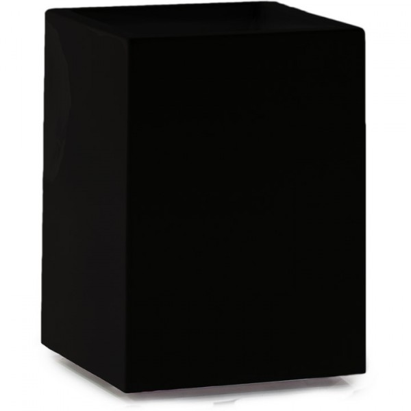 Premium Tower Pflanzsäule schwarz