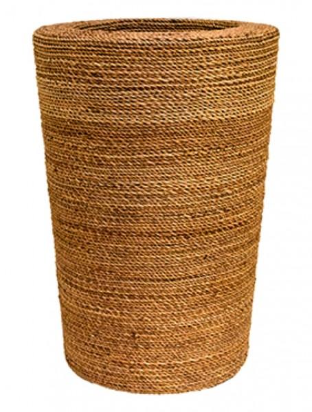 Bananaleaf naturel Pflanzvase aus handgeflochtenen Faserbananen