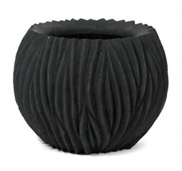 Pflanzkübel River Bowl Black