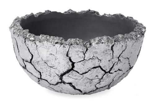 Lava Bowl   Kunstharz Pflanzschale