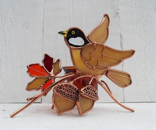 Siegrun | Vogel Teelicht