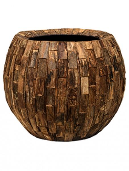 Cemani Wood Design Bowl Pflanzschale