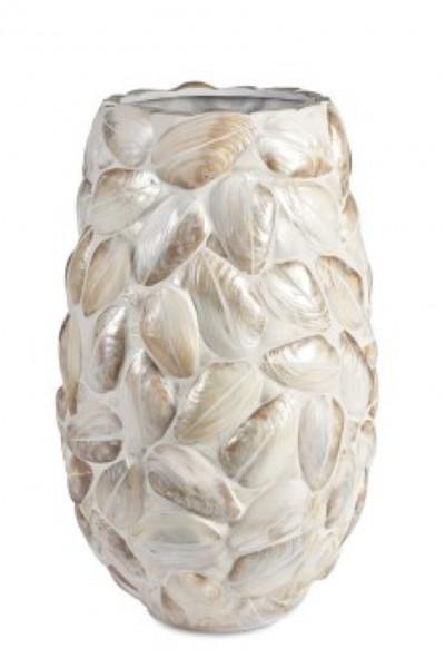 Samar Kabibe Austernmuschel Pflanzvase