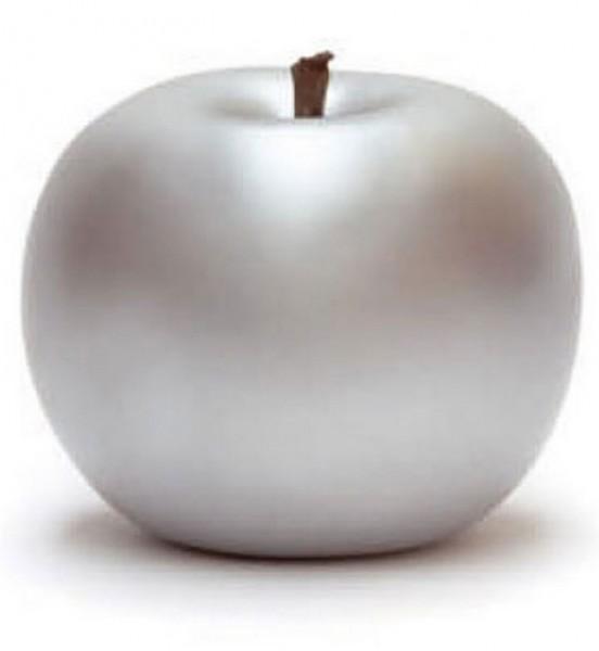 Keramik Apfel silber   Cores da Terra
