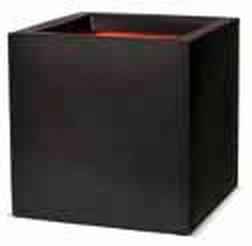 Cube Pflanzkübel   Capi Tutch Schwarz