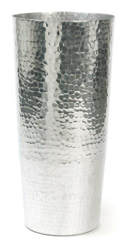 Chique | Aluminium Pflanzgefäß gehämmert