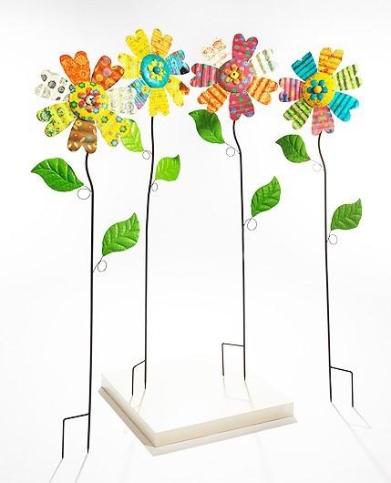 Coloris 4er Set | Deko-Blume auf Stab
