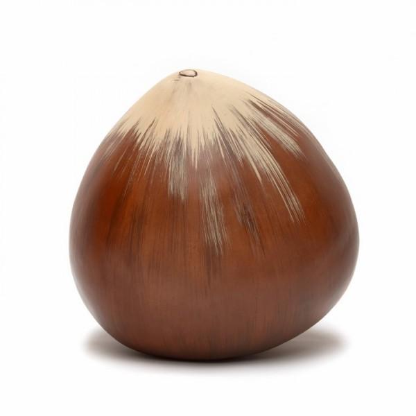 Keramik Haselnuss   Cores da Terra