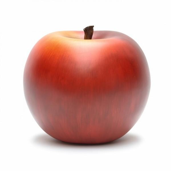 Keramik Apfel rot   Cores da Terra