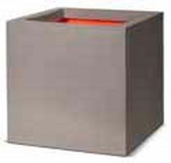 Cube Pflanzkübel   Capi Tutch Hellgrau