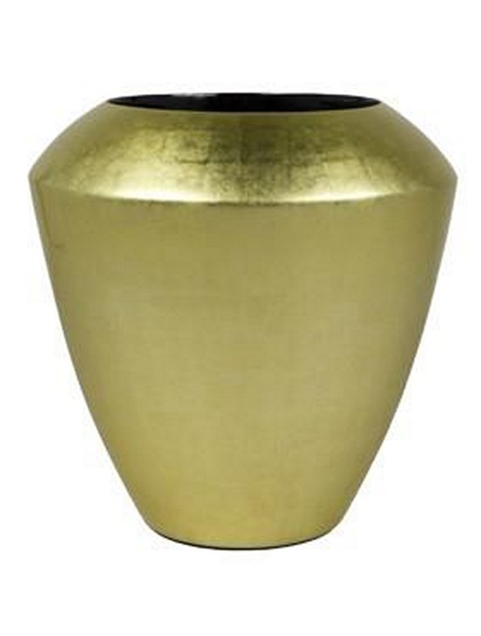 Goldleaf Coppa | Blattgold Pflanzkübel