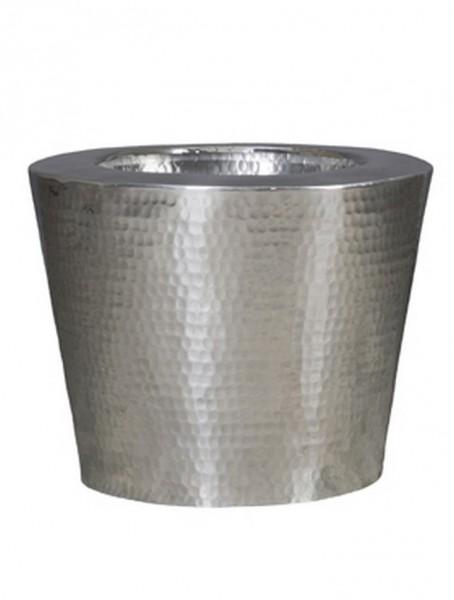 Pflanzkübel Elegant Aluminium gehämmert