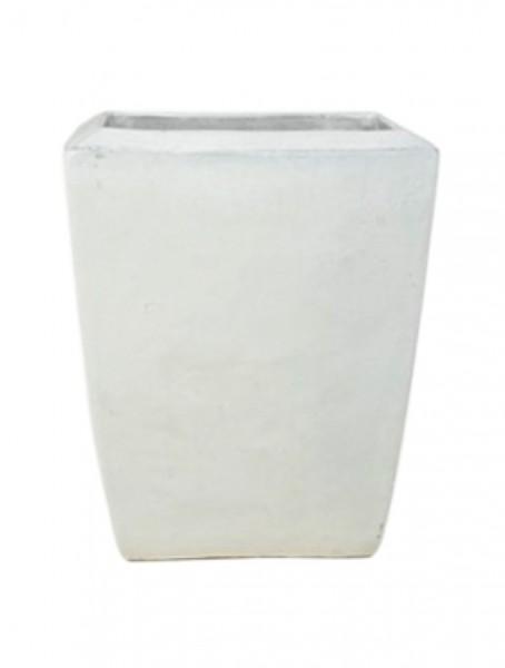 Kubis Pflanzkübel Weiß | De Luxe Keramik