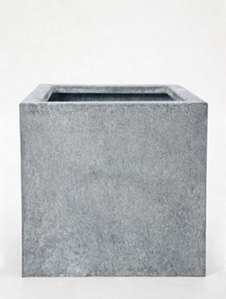 Acier Square Pflanzkübel aus Feuerverzinktem Stahl