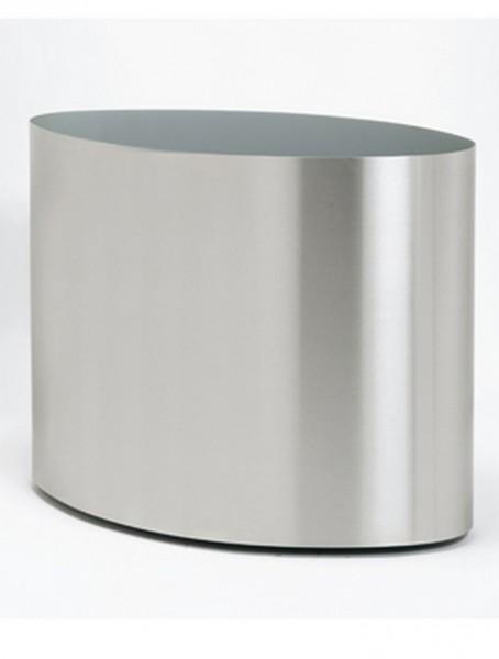 Big Oval Edelstahl Pflanzkasten - Superline