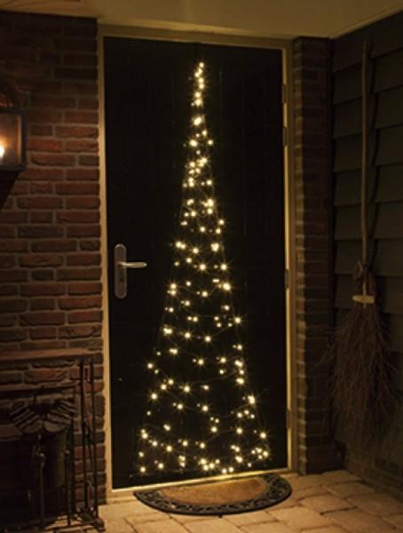 Fairybell LED Weihnachtsleuchtbaum Eingangstür Leuchtsystem 210 cm
