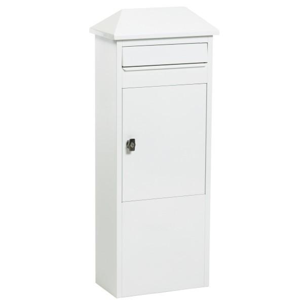 Safe Post 101 | LED-Standbriefkasten weiß