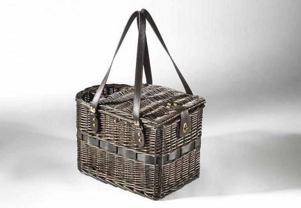 Picknickkorb Edinburgh für 2 Personen - braune Weide