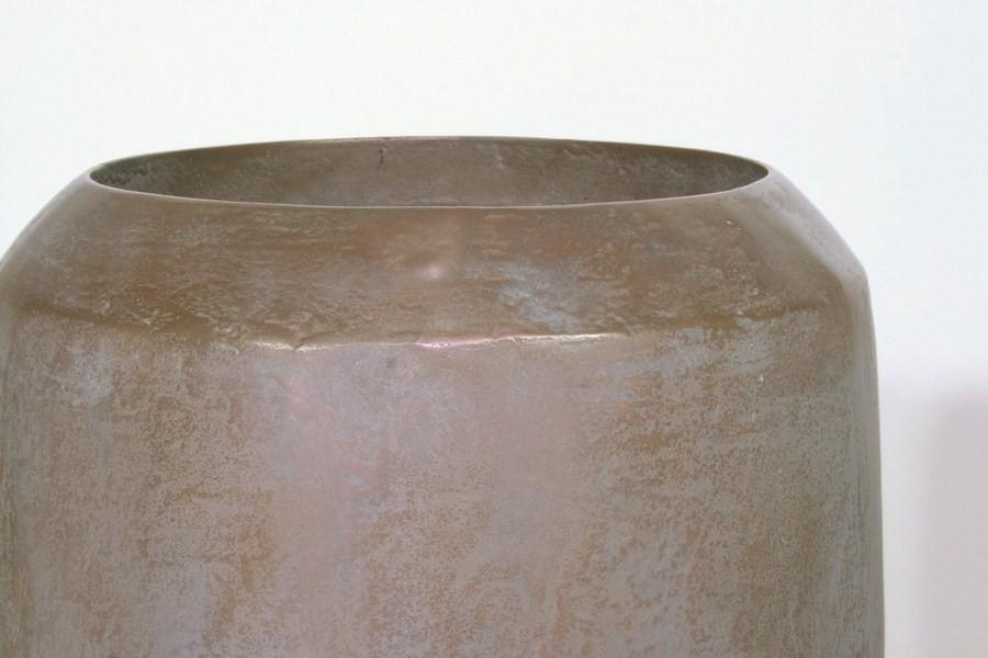 Loft verdigris bronze Pflanzvase