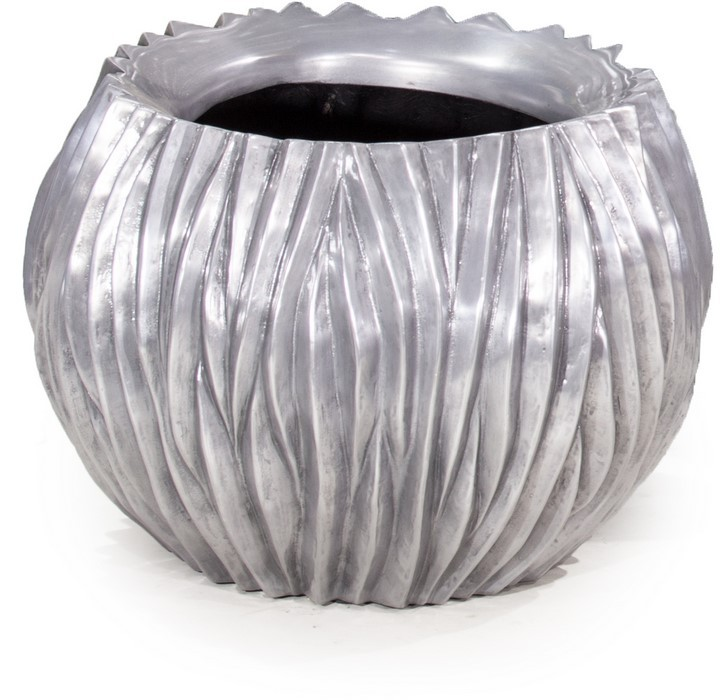 River Bowl Aluminium Pflanzkübel