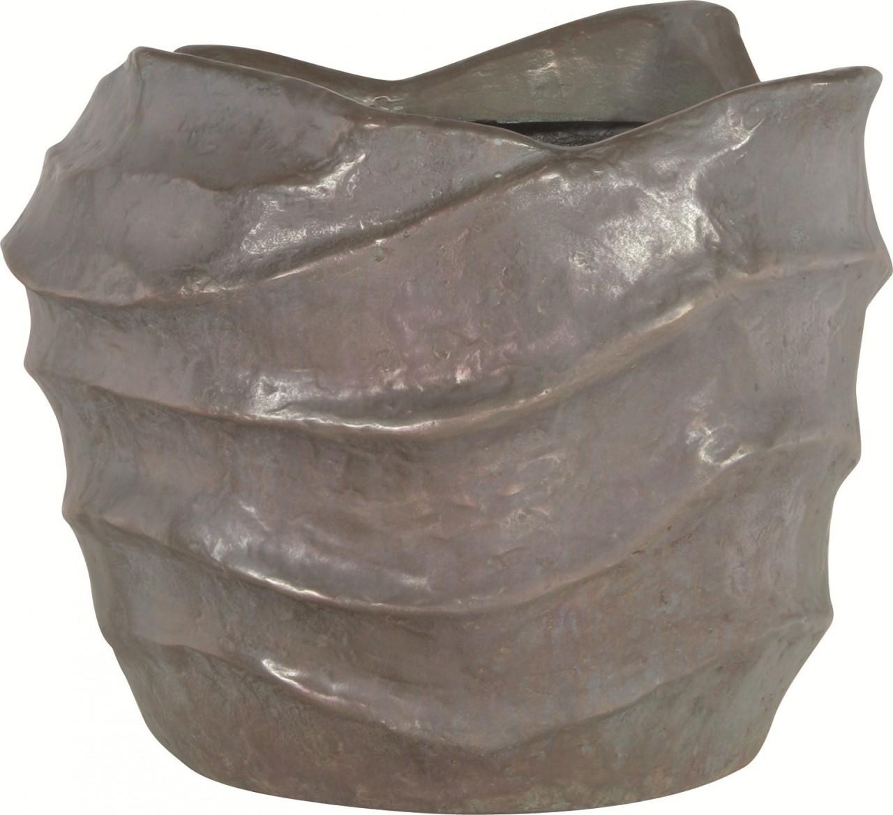 Nautica verdigris bronze | Fiberglas Pflanzkübel