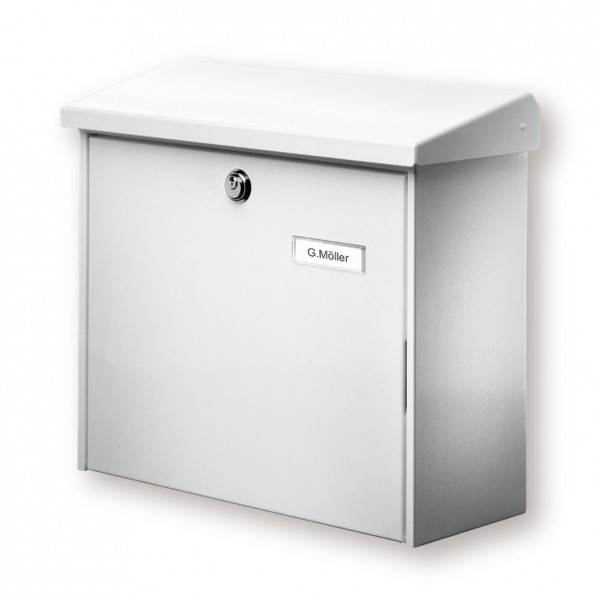 Comfort BURG-WÄCHTER |  Briefkasten aus verzinktem Stahl