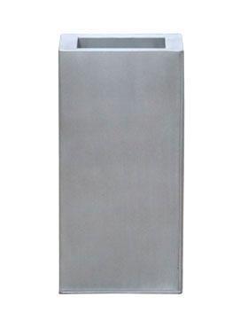 Zink Metallook Pflanzsäule