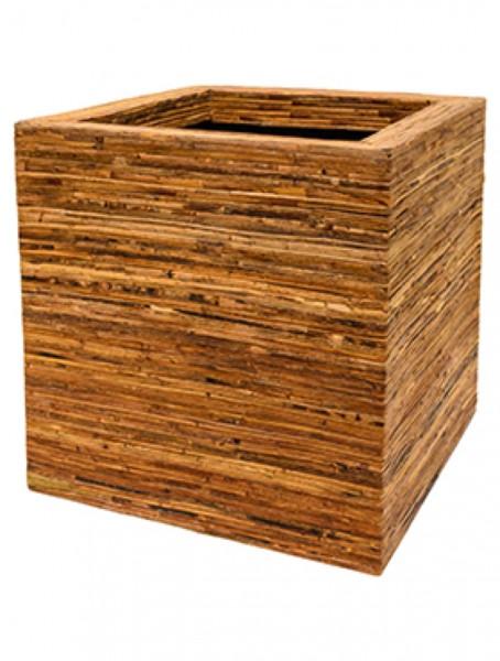 Kubis Bamboo bark Rattan Pflanzkübel