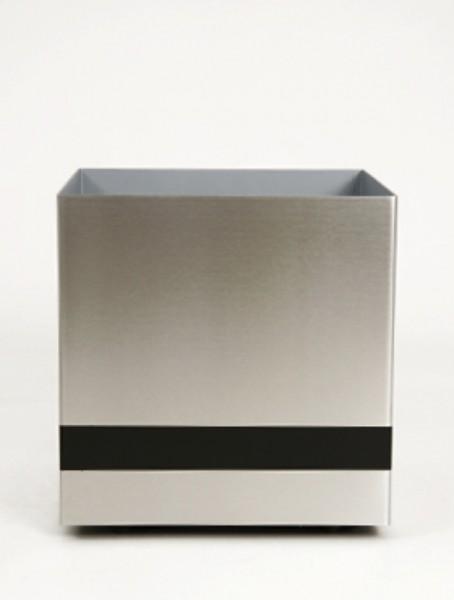 Superline Trend Plus - Edelstahl Pflanzkübel