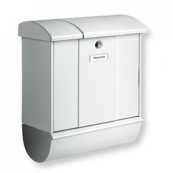 Olymp-Set BURG-WÄCHTER | Stahl-Briefkasten mit Zeitungsfach