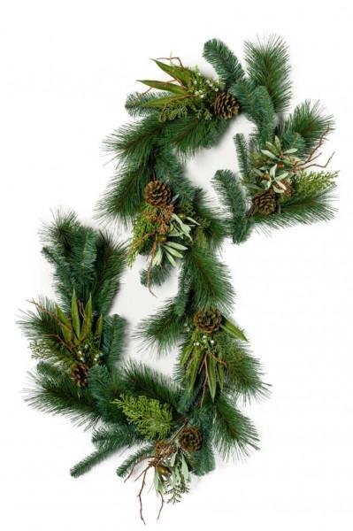 Girlande 180 cm - Pine und Olive