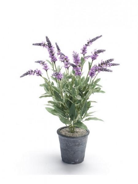Lavendel Salvia Kunstblumenbusch