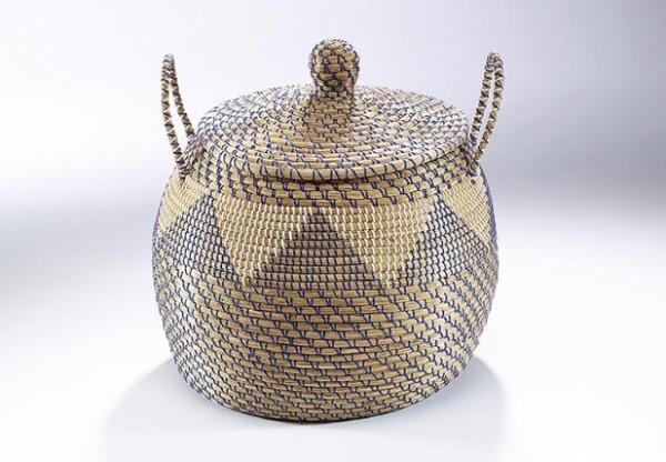 Wäschekorb Kara aus Seegras