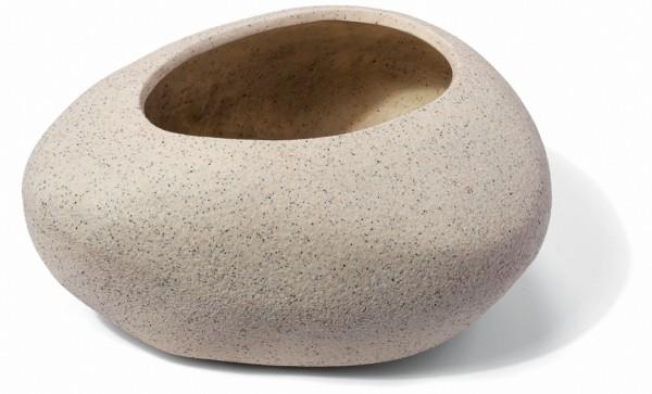 Mount Lovty Cream Pflanzkübel Steinform | ArtLine Stone