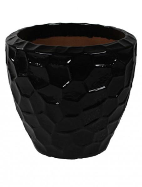 Cascara Relief - Keramik Pflanzvase