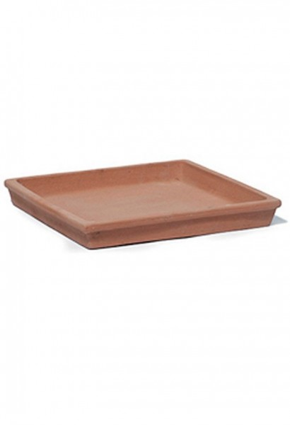 Terracotta Untersetzer quadratisch | TerraDura