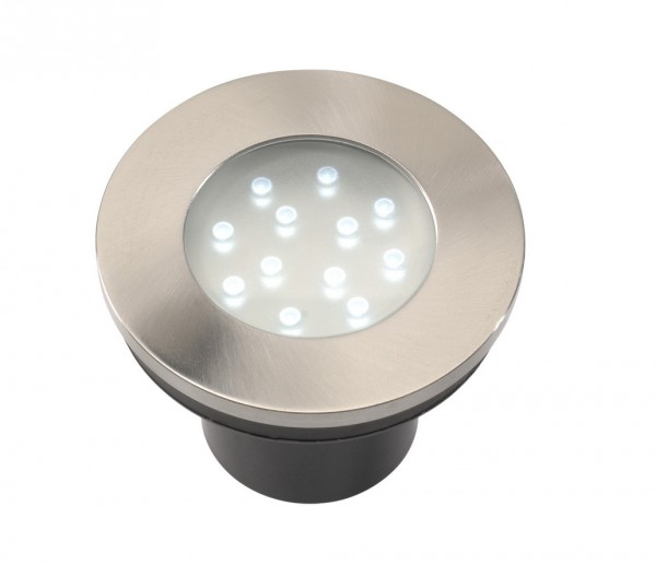 Hibria LED Edelstahl Einbauleuchte