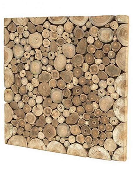 Santi Dekoholz Bilderrahmen - Decowood 50 x 50 cm